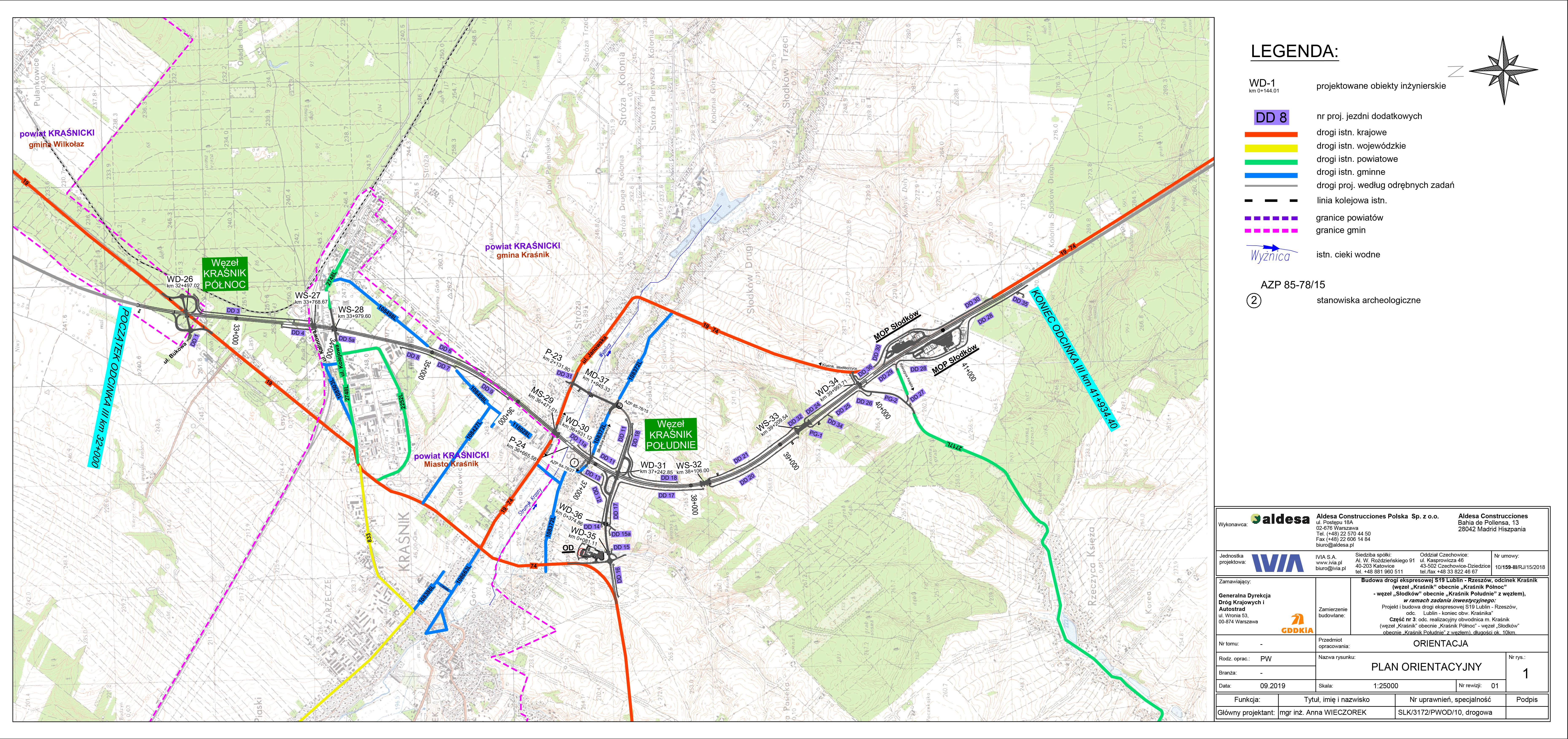 S19 Krasnik Projekt I Budowa Drogi Ekspresowej S19 Lublin